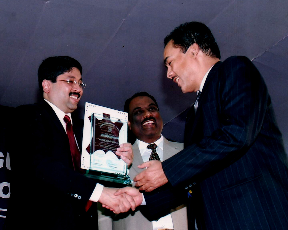 awarded by minister of it and communications