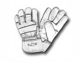 hands safety gloves icon